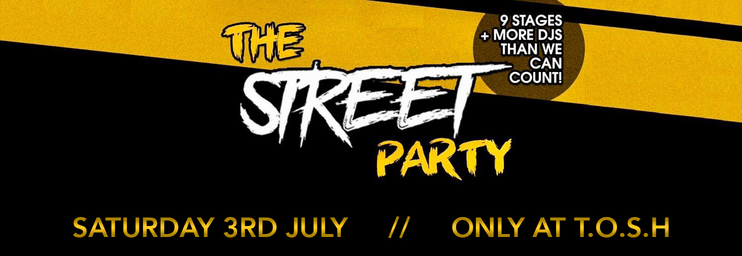 The Street Party - Landing Banner